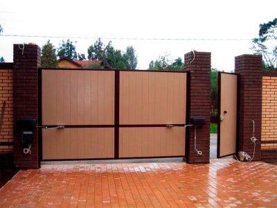 Распашные ворота в Пензе