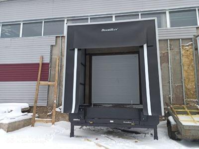 Монтаж ворот откатных для охлаждаемых помещений - Дукат